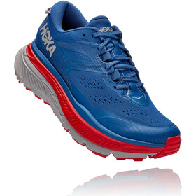 Hoka One One Stinson ATR 6 Running Shoes Men dark blue/high risk red